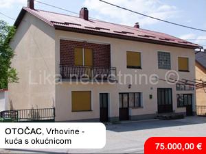 Novalja, kuća