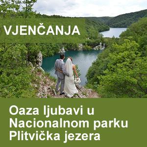 Oaza ljubavi u Nacionalnom parku Plitvička jezera